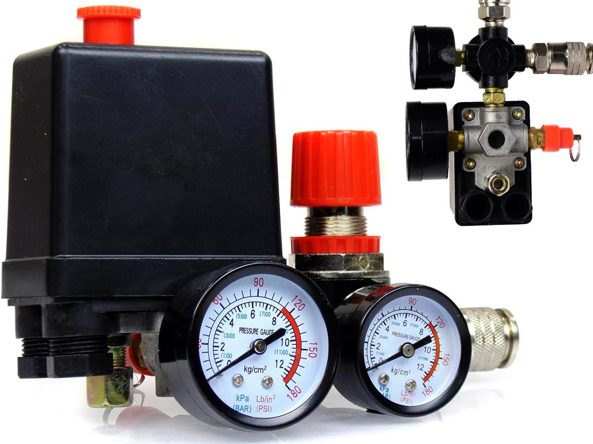 PRESOSTAT 1MP włącznik ciśnieniowy do kompresora