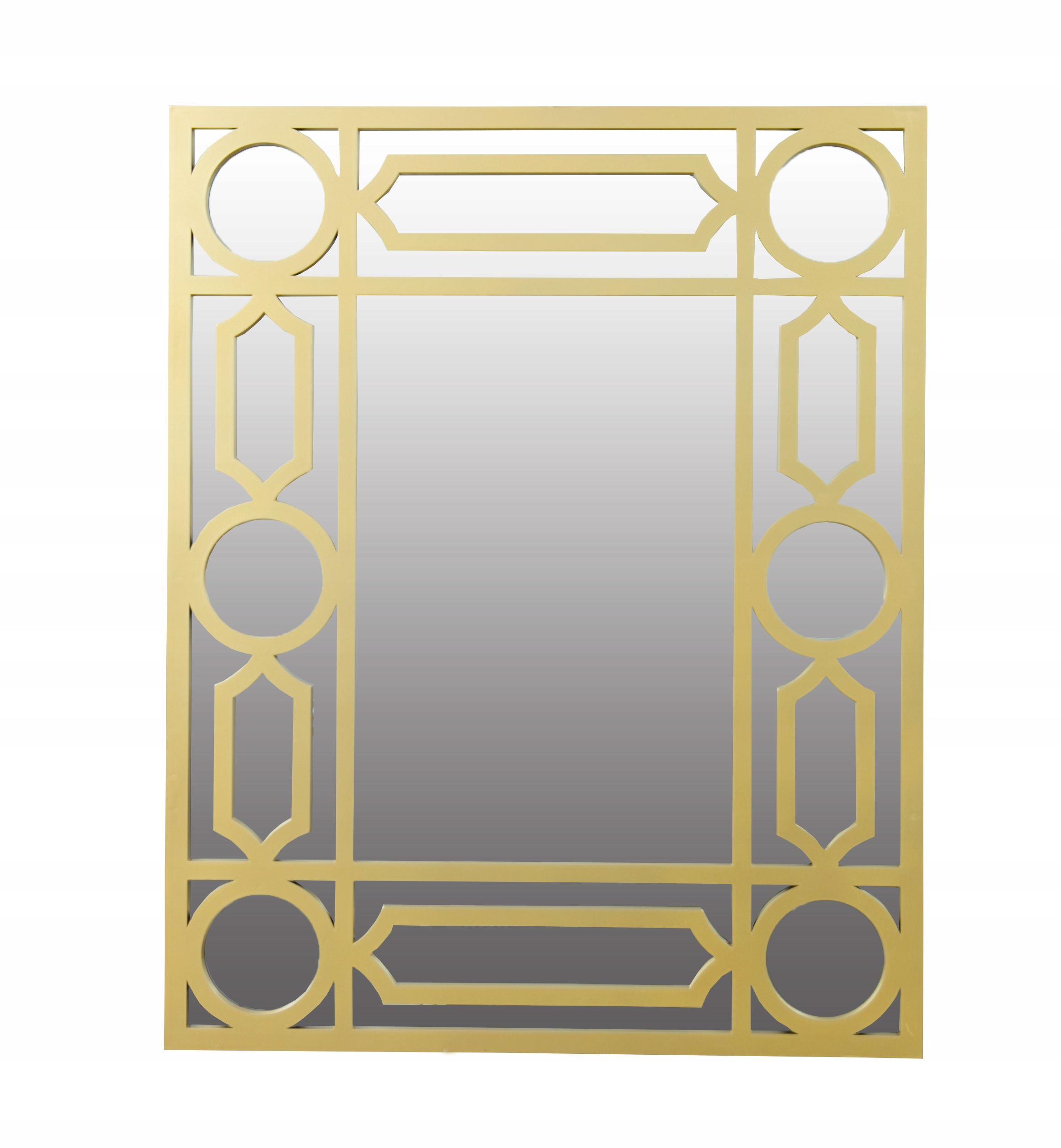 ZRKADLO pre zavesenie RETRO VINTAGE zlato 72 cm