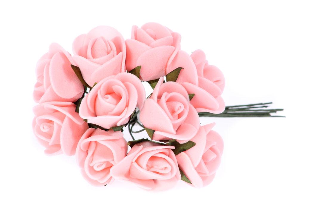 Купить M64 Пены цветы на проволоке латекс 2см/10шт 5kol на Otpravka - цены и фото - доставка из Польши и стран Европы в Украину.