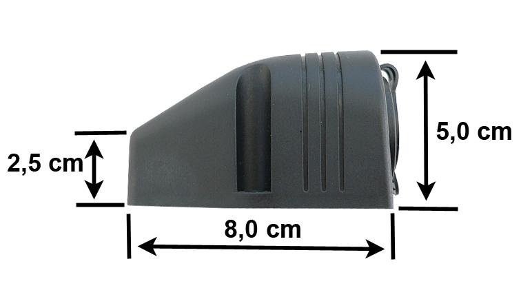 PAKROVEJAS USB 5V 4,2A LIZDAS HERMETISKI 12V 24V