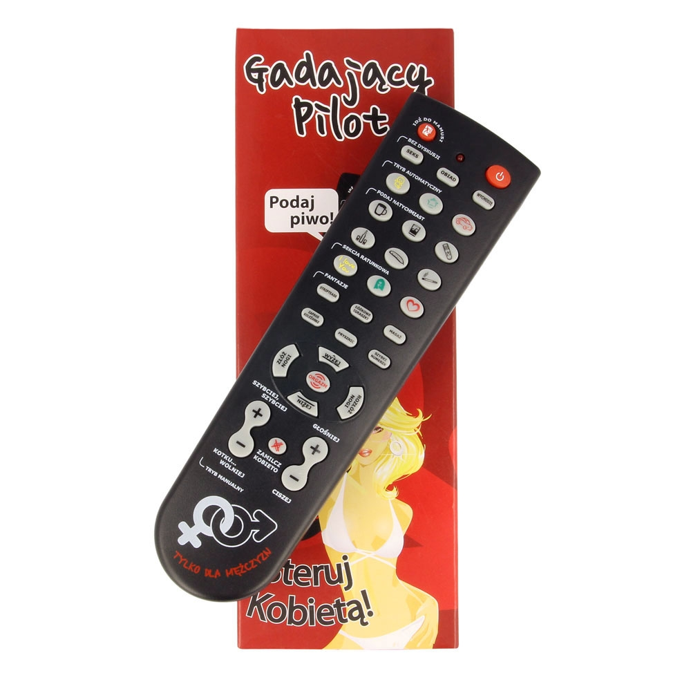 Item TALKING REMOTE CONTROL - CONTROL YOUR WOMAN! FUNNY GIFT