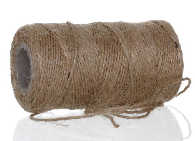 Item NATURAL linen TWINE, powerful, jutowy up to 70m