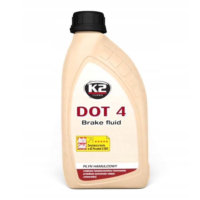 K2 DOT 4 - BRAKE FLUID - 500 мл