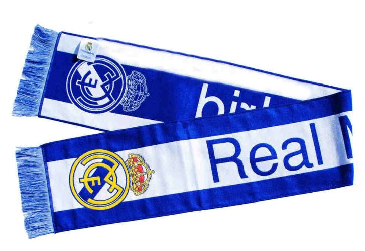 Real Madrid Scarf tkané jednostranné Ronaldo CR7