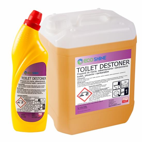Жидкость для ТУАЛЕТА TOILET DESTONER 0,75 Л ЧИСТАЯ ВАННАЯ комната