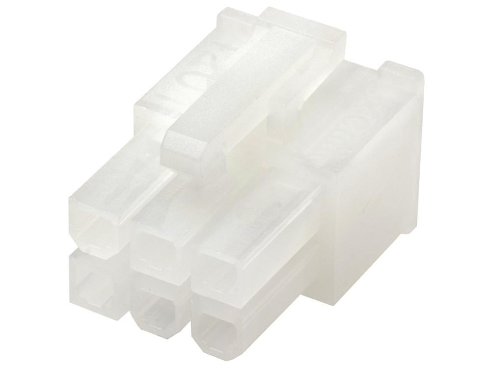 плагин molex mini-fit 6-pin