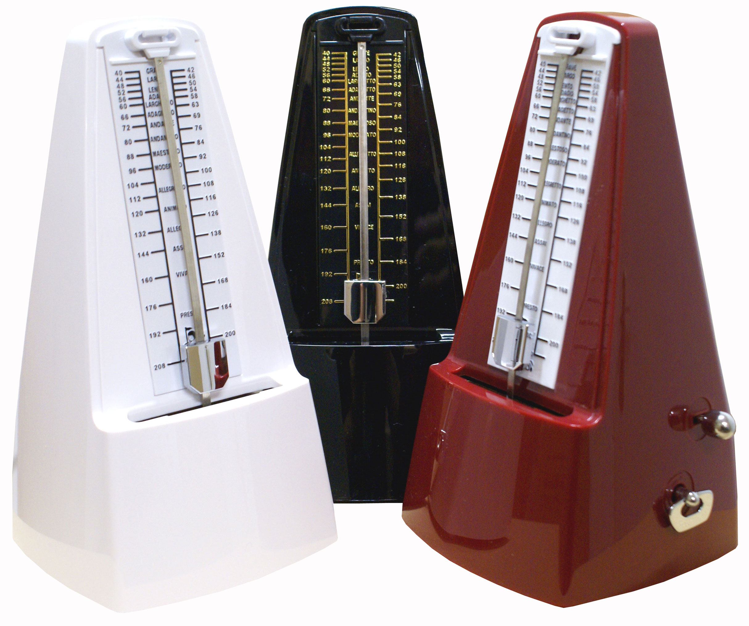 Item MECHANICAL METRONOME WITH BELL ACCESSORIES 6 COLORS