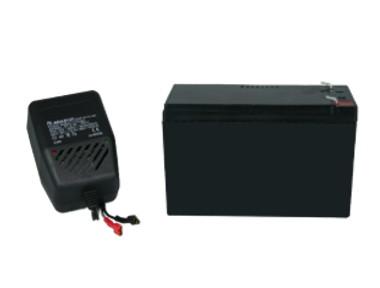 Echosonda Napájanie batérie + nabíjačka WAWA
