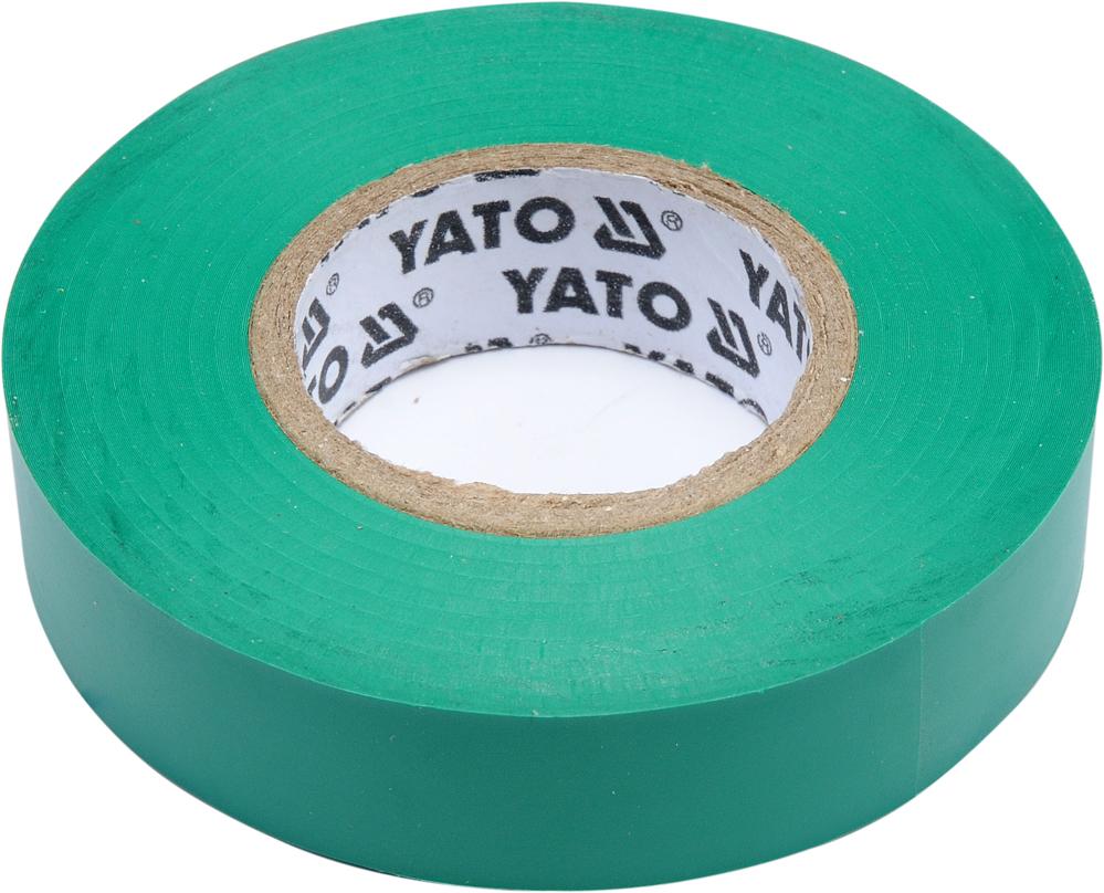 ЛЕНТА IZOLAYCJNA 15мм х 20м зеленая YT-81595 YATO