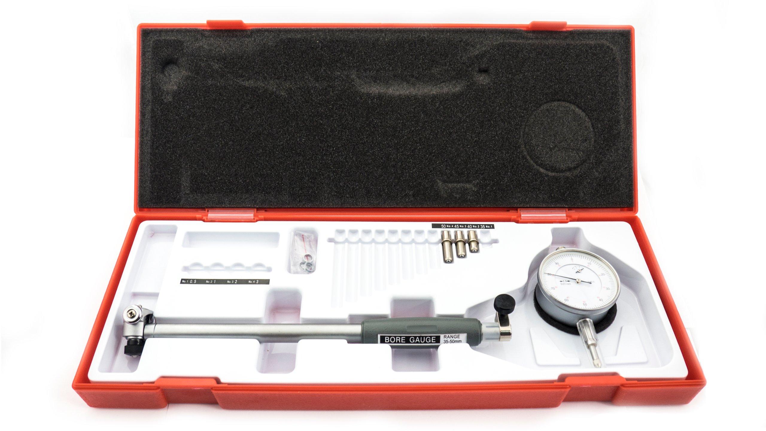 Hodiny médium 35-50mm 0,01 mm