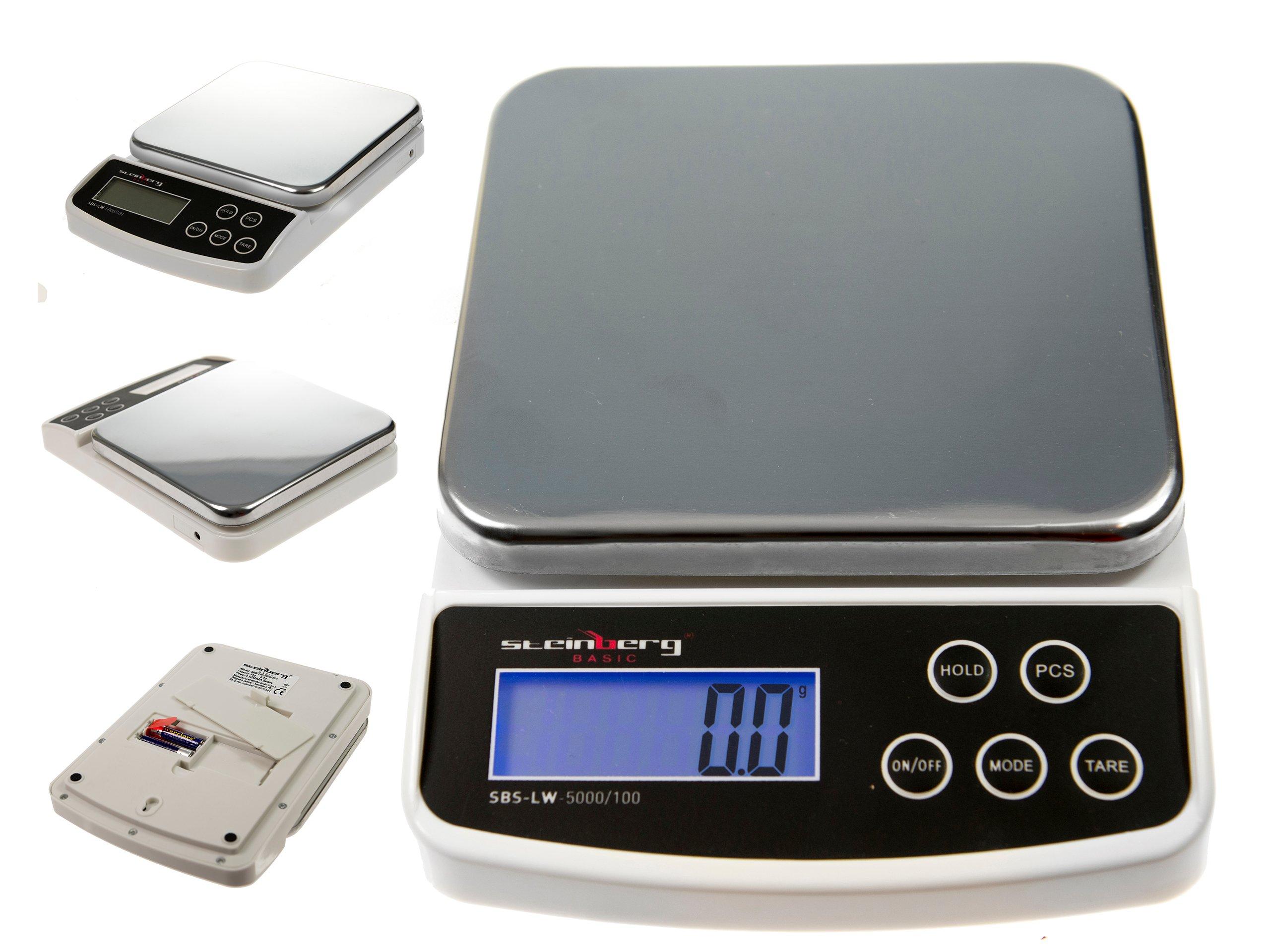 Výmena kontaktných potravín 5kg / 0.1g Batérie