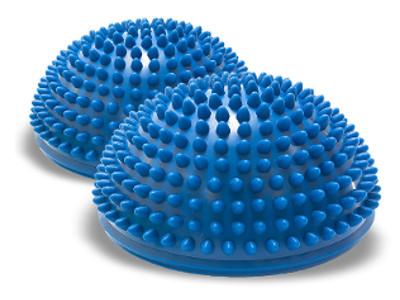 Hemisférový vankúš pre cvičenie Fitness Balance Disk