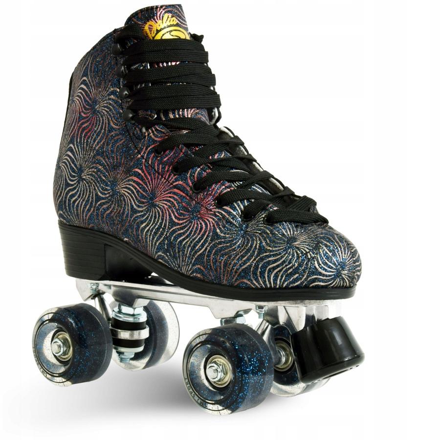 Dámske gumové kolieskové korčule veľkosť 36 RETRO