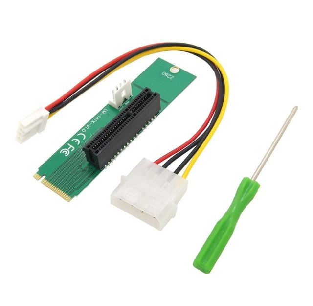 Item Adapter M. 2 Riser set of interfaces to PCI-E x4 LM-141X-V