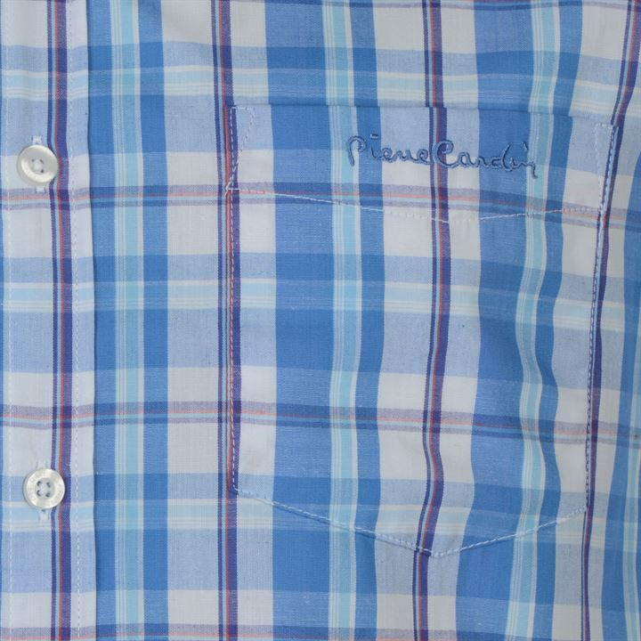 Koszula Męska PIERRE CARDIN krata bawełna rozm L 7074480508  u0OyF