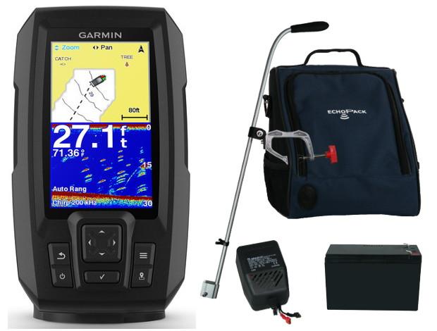Echosonda s GPS Garmin Striker Plus 4 Set