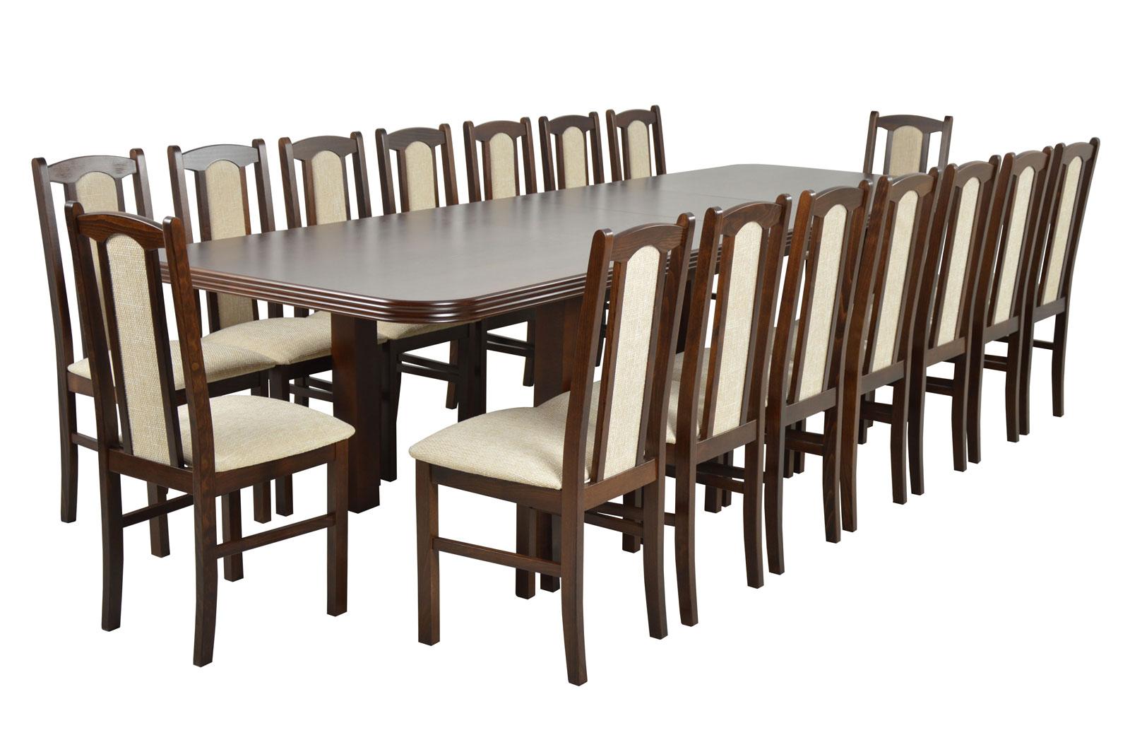 16 Stoličiek + Stôl posuvné 3 m kuchyne