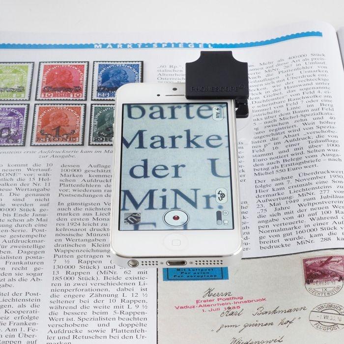 Микроскоп для смартфона - лупа в ячейки Leuchtturm доставка товаров из Польши и Allegro на русском