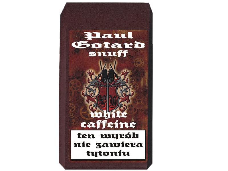 TABAKA BIAŁA WHITE COFFEINE PAUL GOTARD Z KOFEINĄ