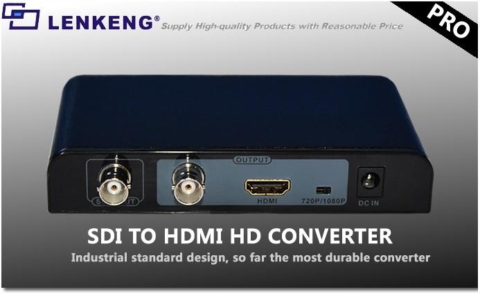Купить LKV368 PRO Конвертер SDI 3D HD SD HDMI Lenkeng FV на Otpravka - цены и фото - доставка из Польши и стран Европы в Украину.
