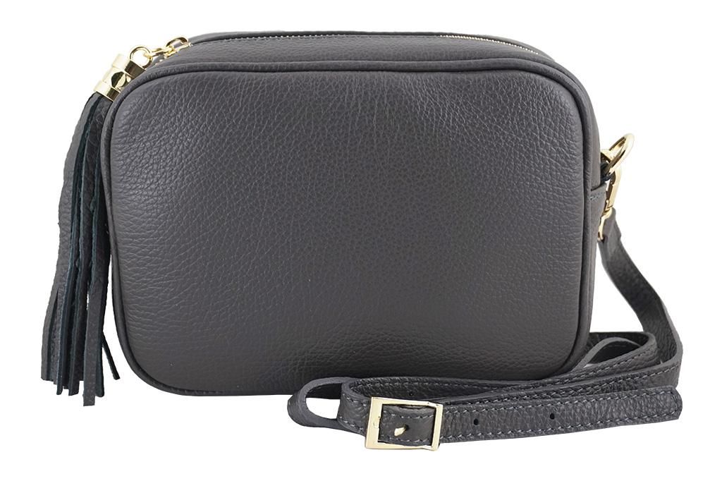 9e46ee898d8d2 Barberini s - małe torebki listonoszki SZARY - 7071346444 ...