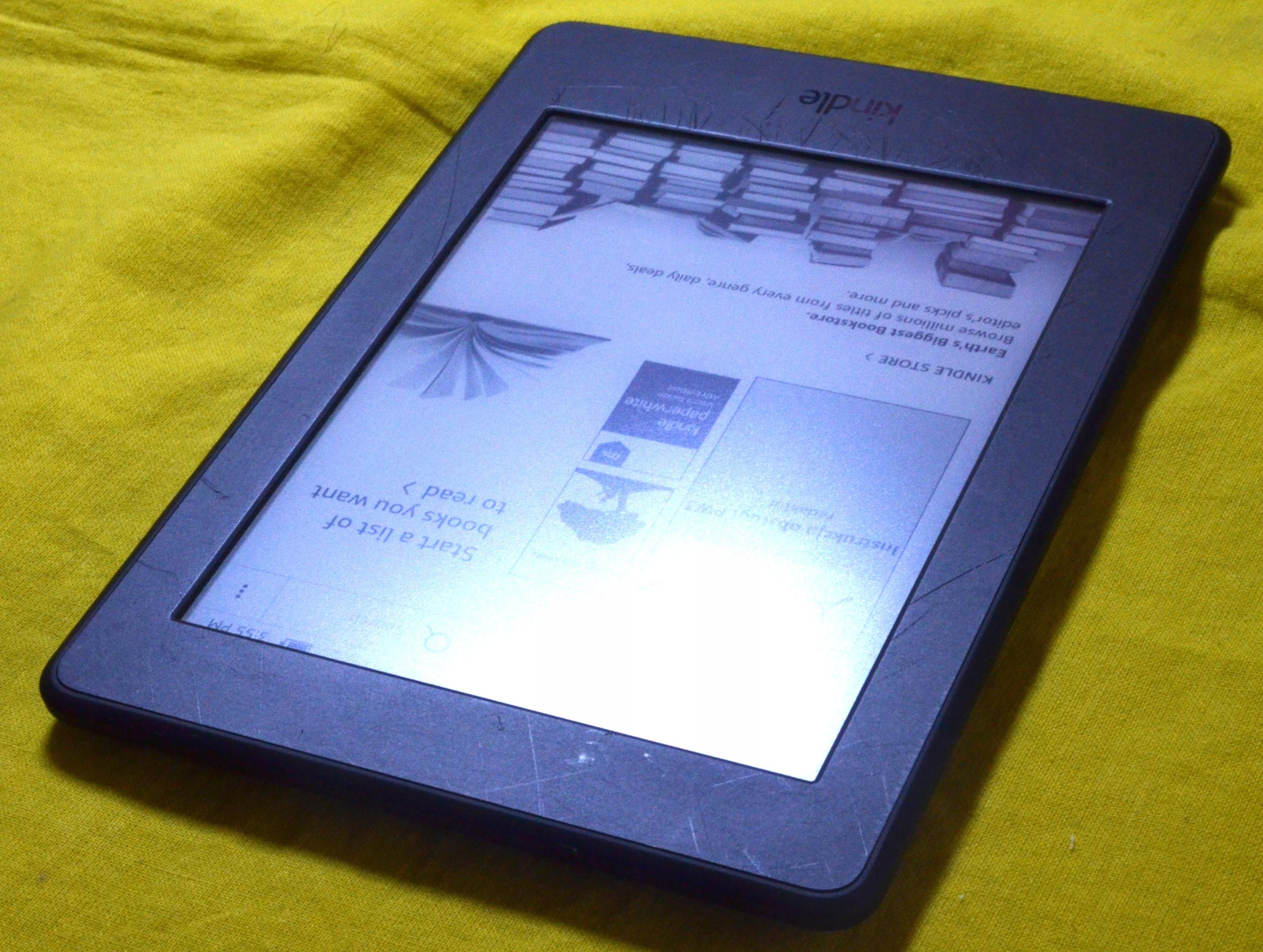 KINDLE PAPERWHITE 3 4GB WIFI BEZ REKLAM G090 KABEL - 7480884343