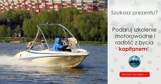 Kurs z egzaminem na Patent Motorowodny, Warszawa.