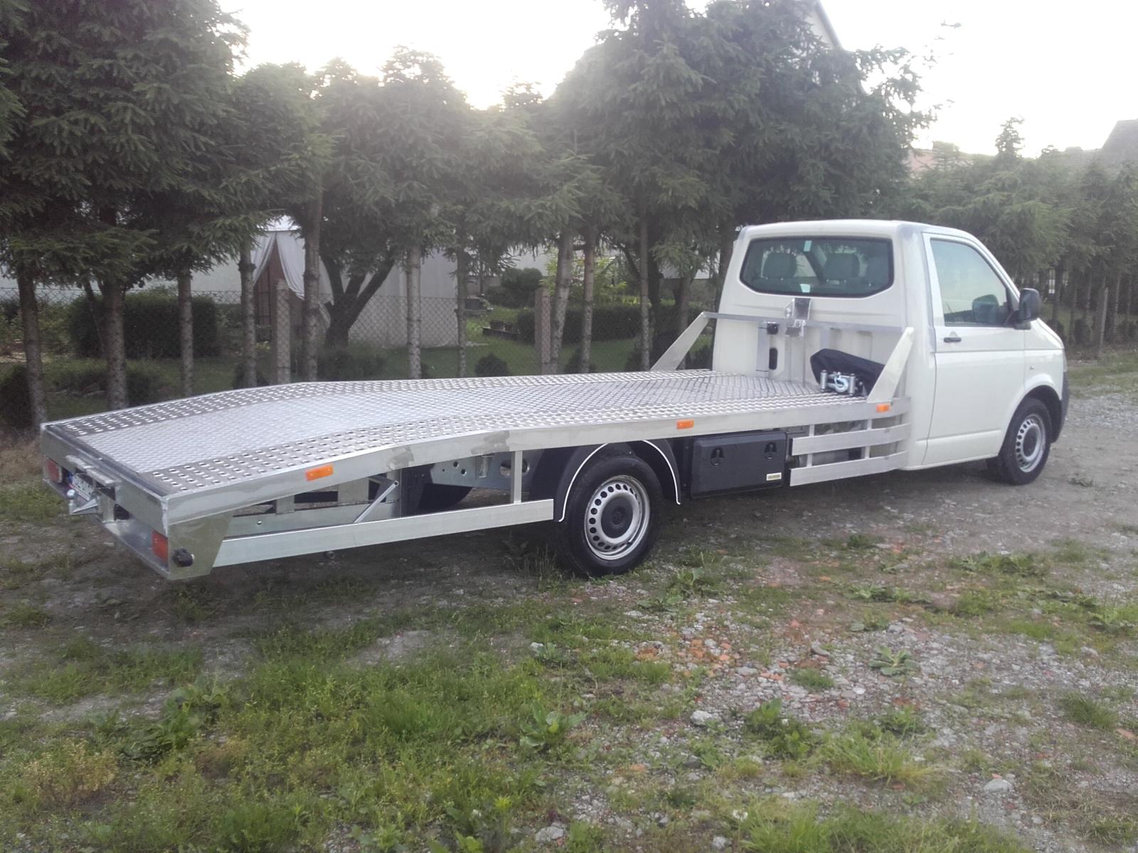 Vw T5 T6 Zabudowa Autolaweta Aluminiowa Rama Alko 7050185668
