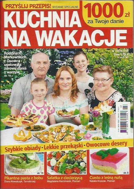 Kuchnia Na Wakacje Wydspec 718 Przyślij Przepis