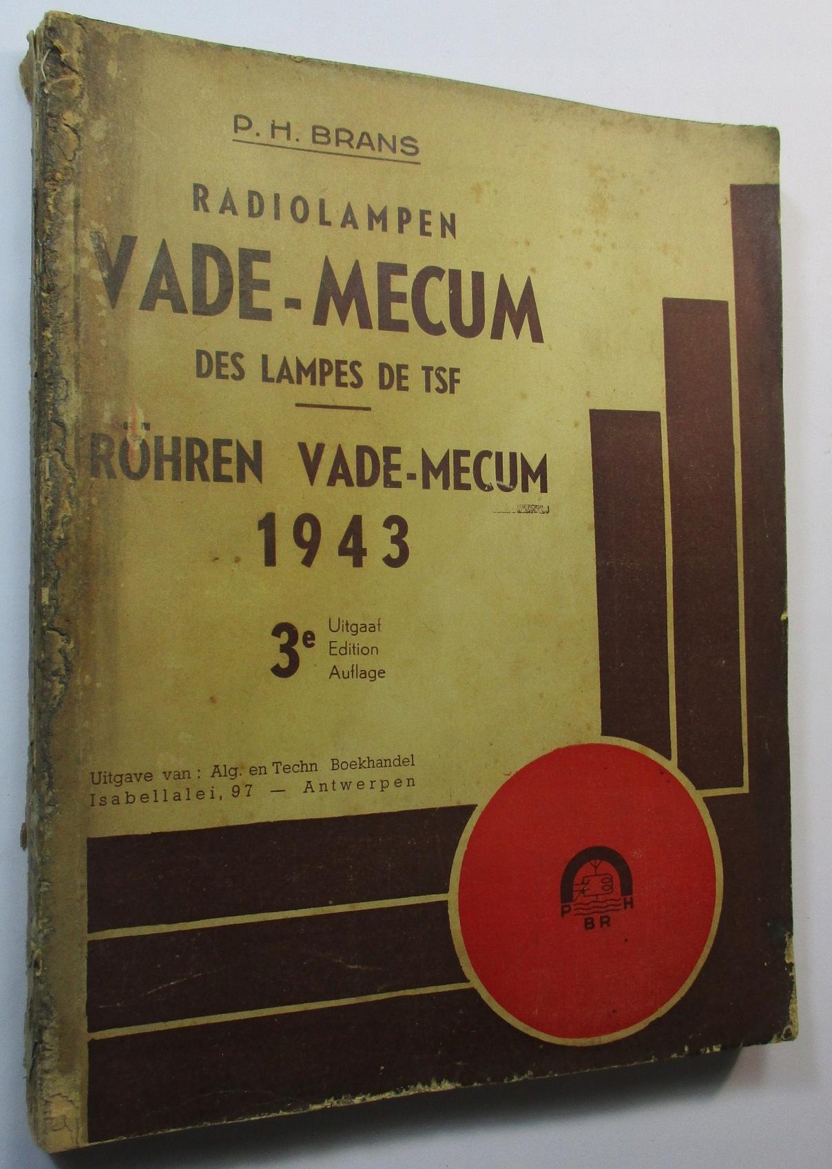 Radiolampen VADE-MECUM, Brans, LAMPY ELEKTRONOWE