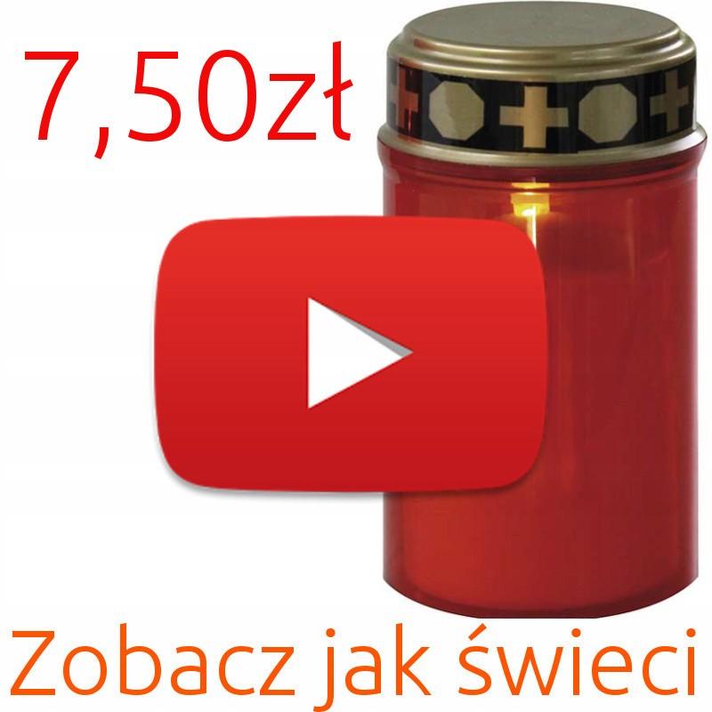 Niesamowite Znicz elektroniczny LED + baterie. Wysyłka 24h! - 6729356949 JE32