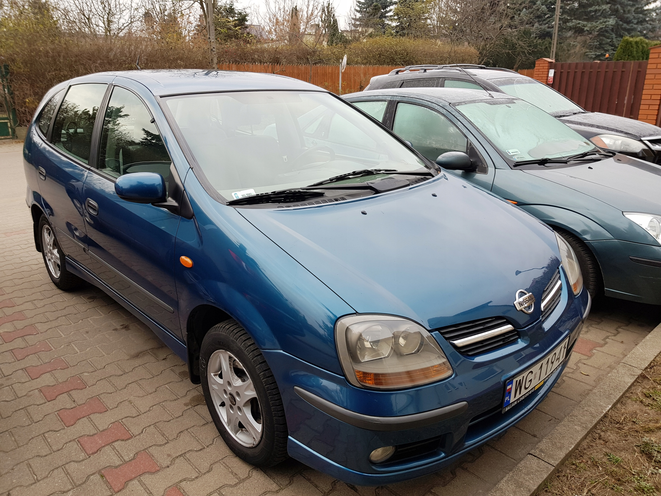 Nissan Almera Tino PL, pierwszy właściciel
