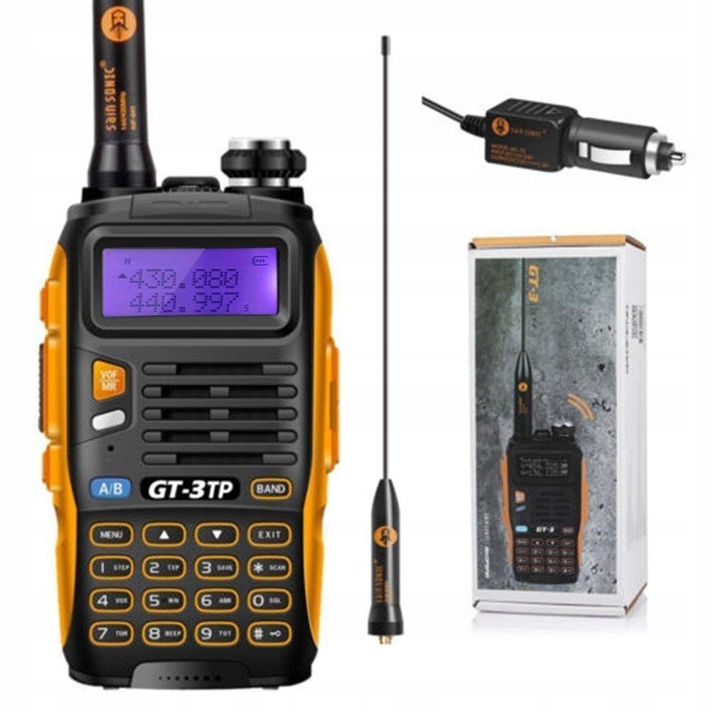 Walkie-Talkie BaoFeng GT-3TP Mark III 8W UHF/VHF