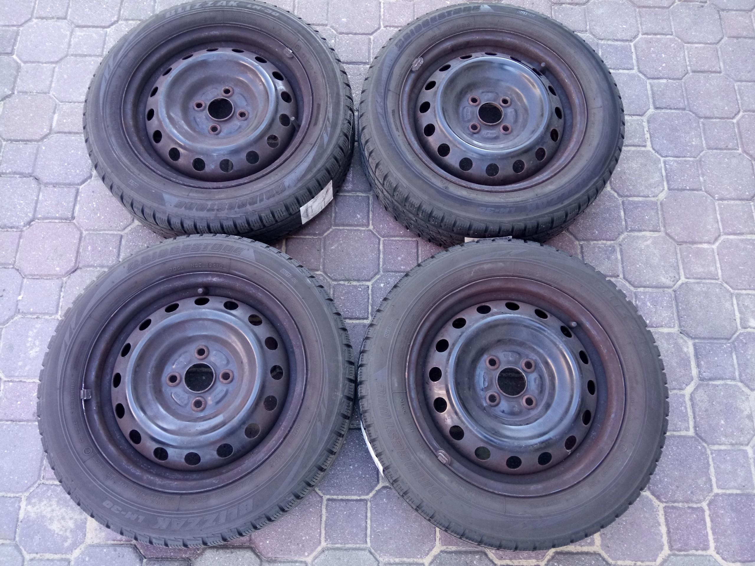 Koła Opony Zimowe Toyota Yaris Bridgestone R15 Hit 7588094687