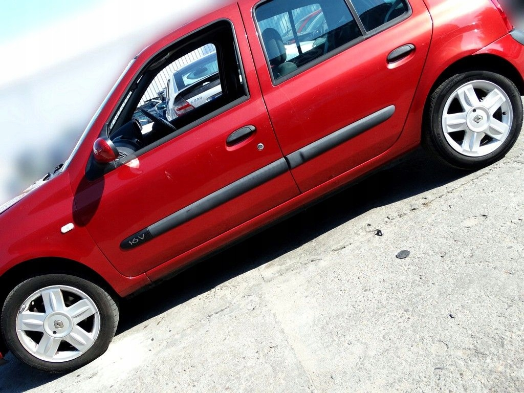 Alufelgi Felgi Aluminiowe Clio Ii Iii 4x100 15 7573815117