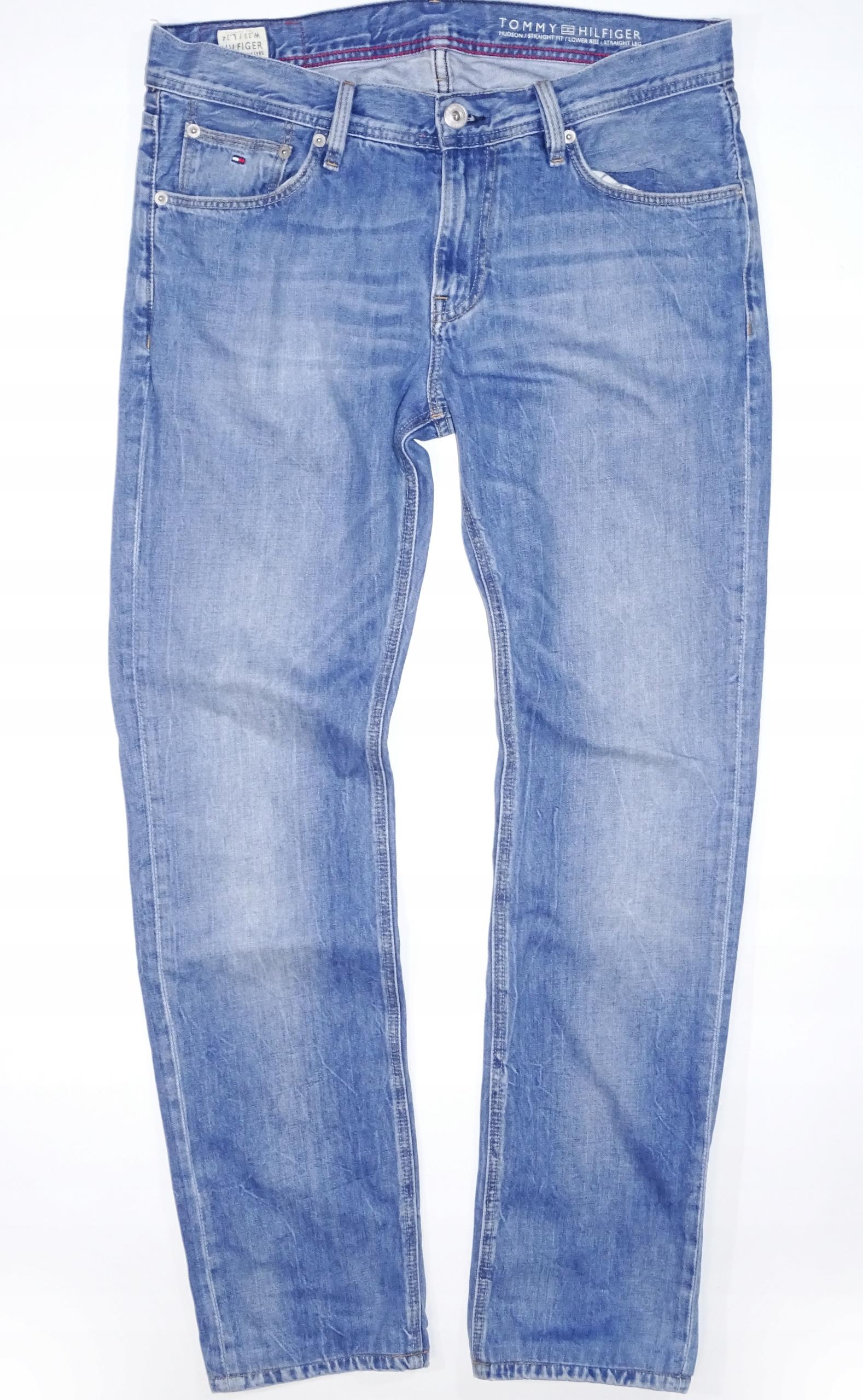 031d36524be06f TOMMY HILFIGER HUDSON Spodnie męskie jeans p-90cm - 7727069448 ...