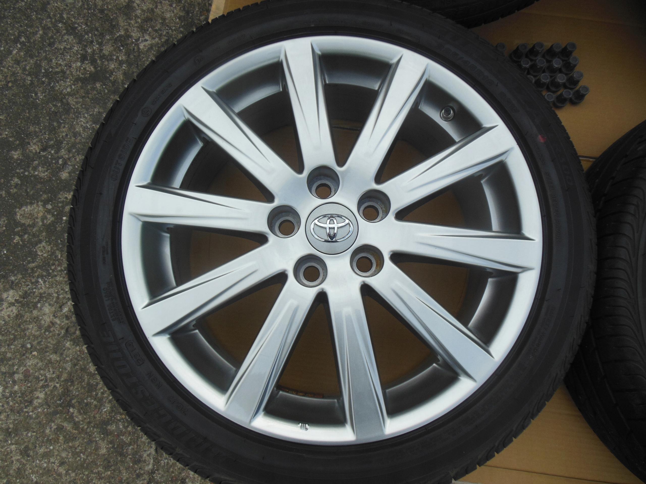Felgi Aluminiowe Toyota Avensis T27