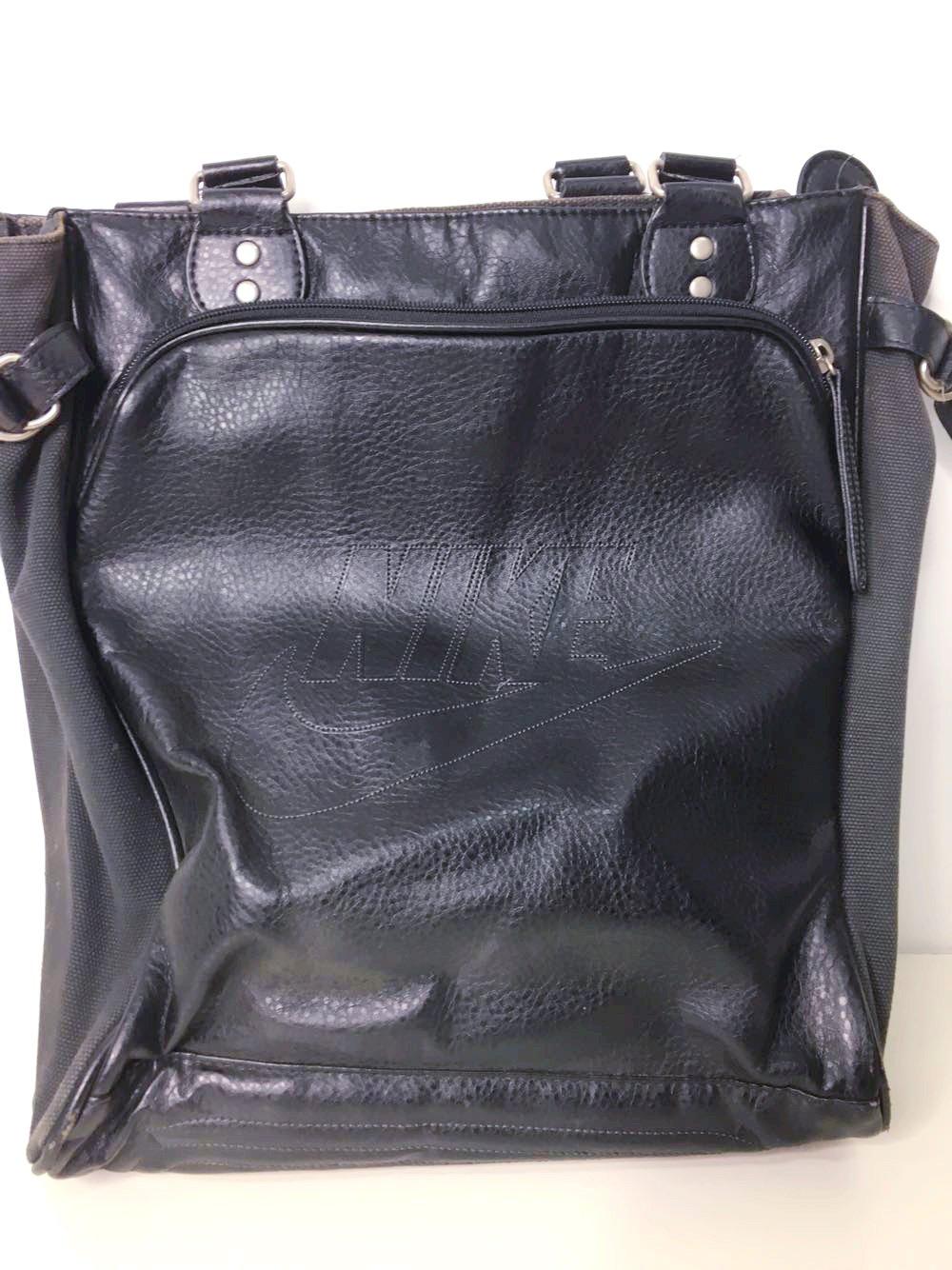 c70d1ab5380d9 torebka NIKE czarna skóra suwaki sportowa torba - 7273626382 ...