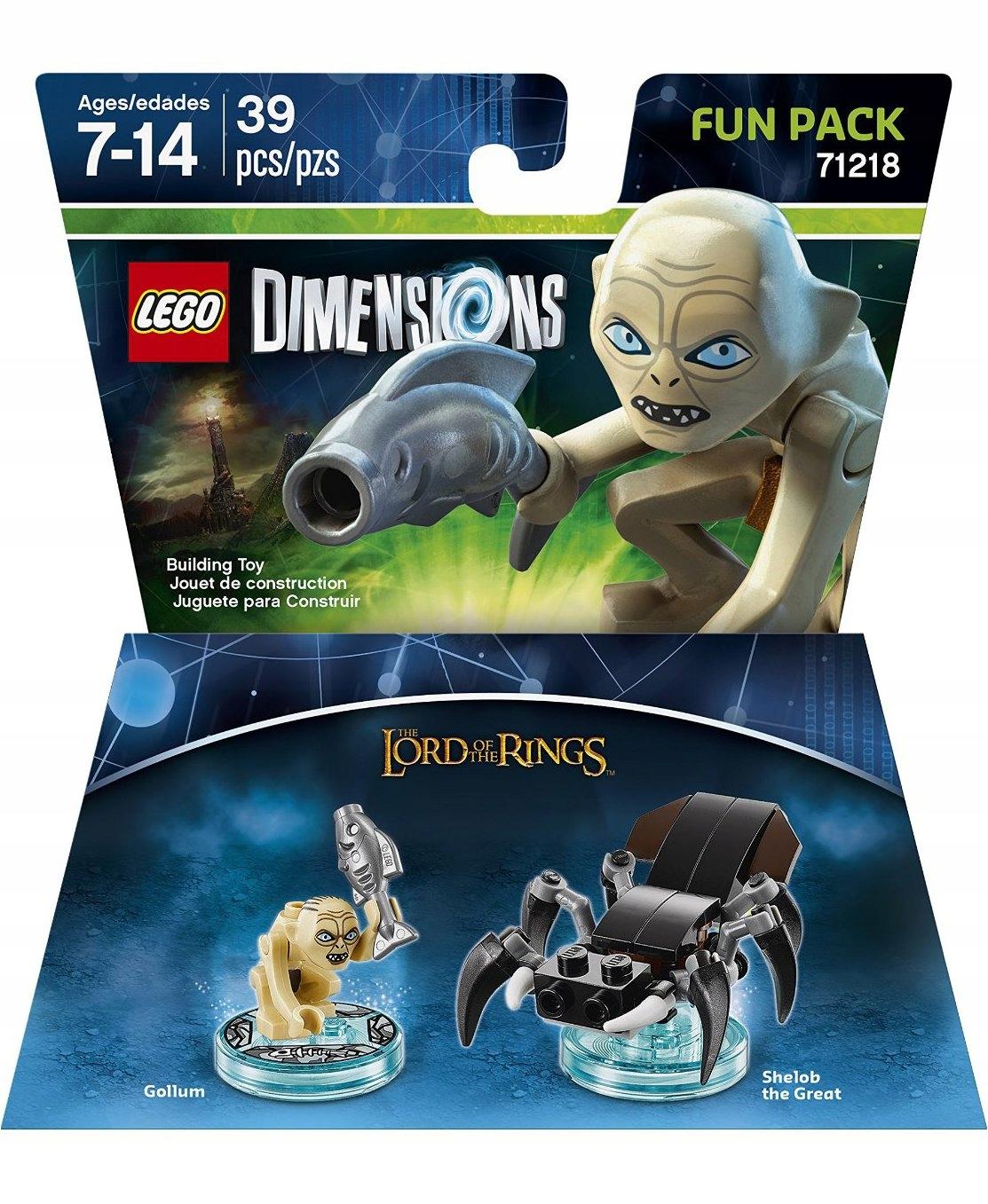 Lego Dimensions Władca Pierścieni Gollum 71218 Bcm 7482327004