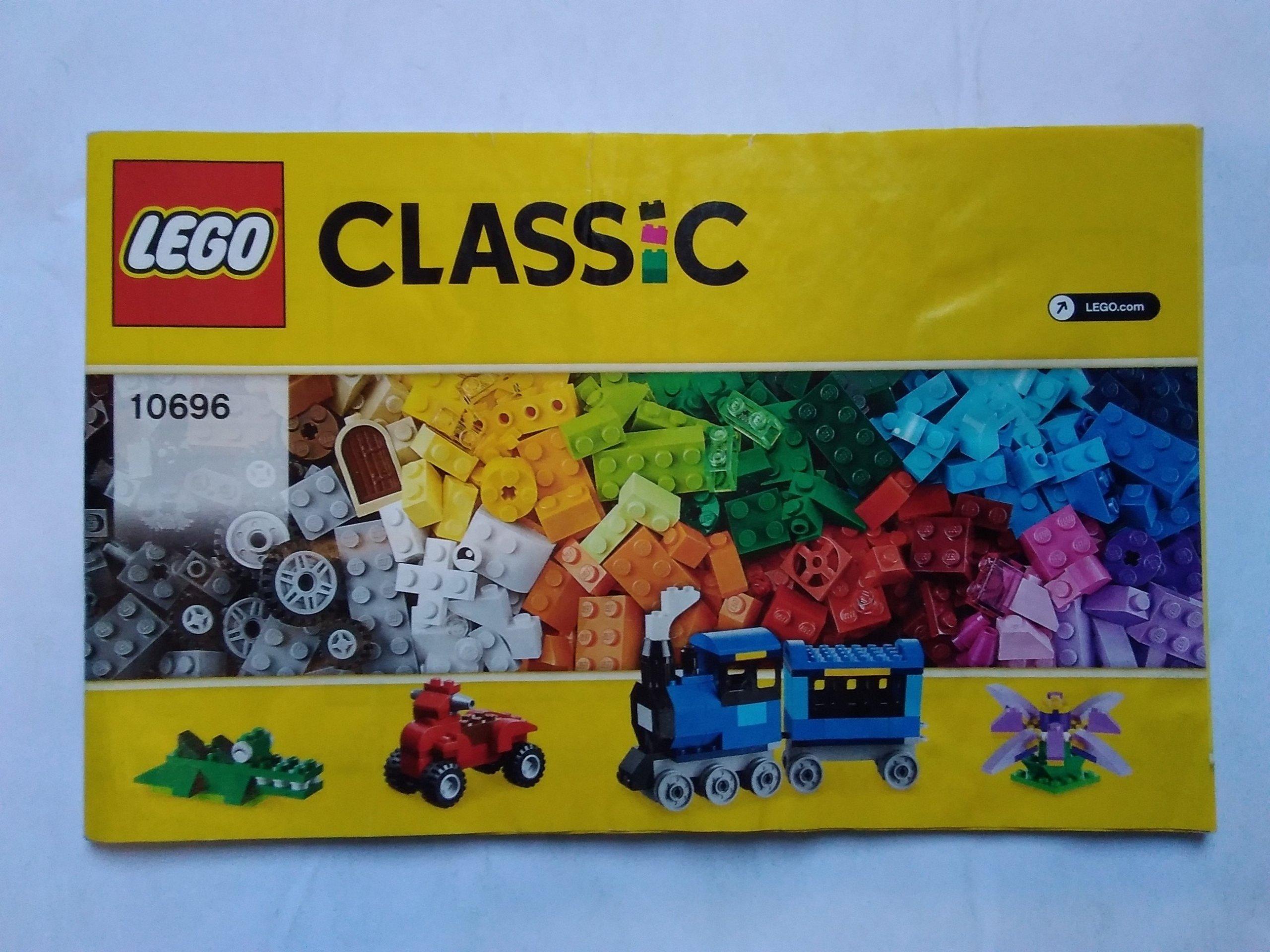 Lego Instrukcja Classic Medium Creative 10696 7398117759