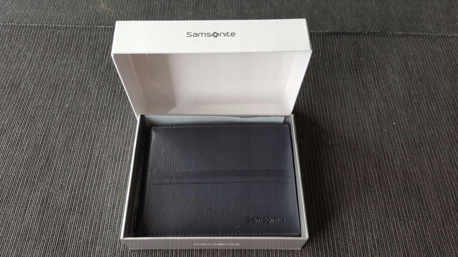 b47cb95aa50da SAMSONITE - Portfel męski NOWY idealny prezent - 7455250150 ...