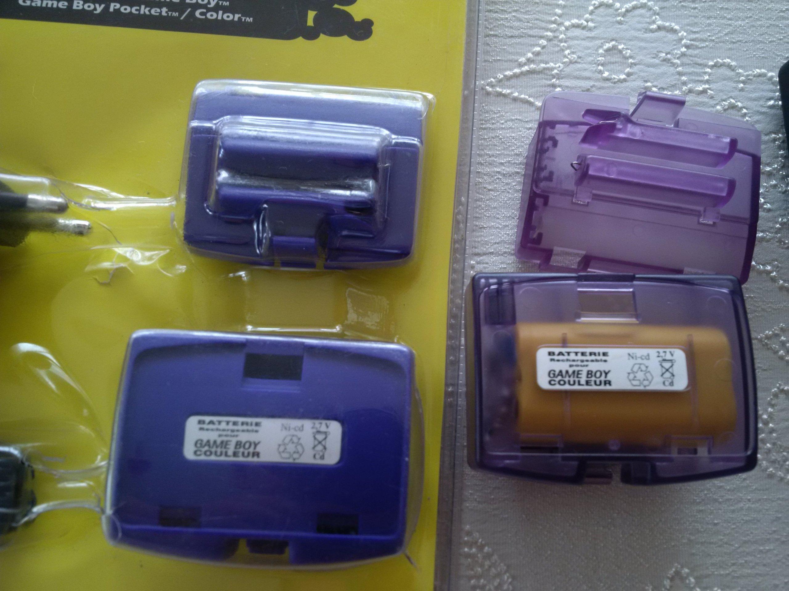 UNIKAT GameBoy Pocket Color Akumulator + ladowarka