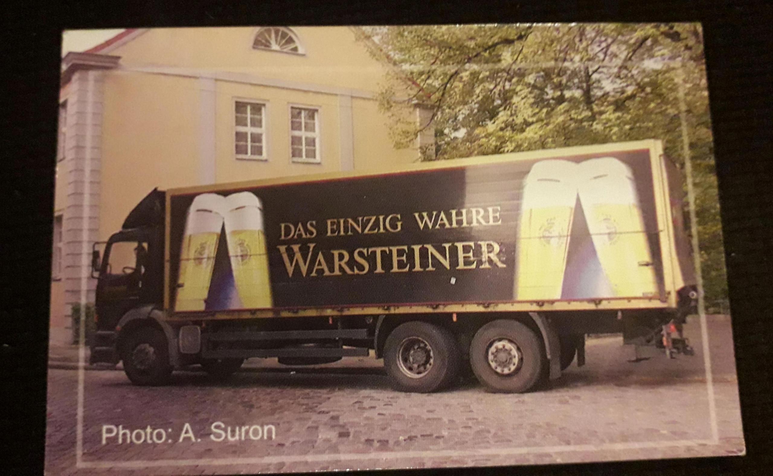 kalendarzyk WARSTEINER AUTO