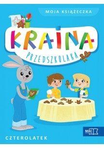 KRAINA PRZEDSZKOLAKA CZTEROLATEK MOJA KSIAZECZKA-M