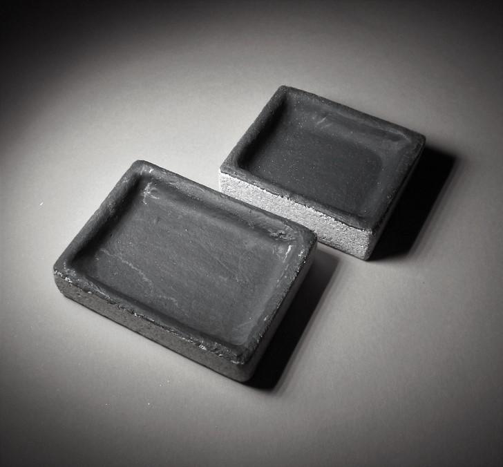 Srebro;Pojemniki do wylewania srebra+pasta grafit