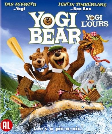 BLU-RAY Animation - Yogi Bear Voices By Dan Aykro