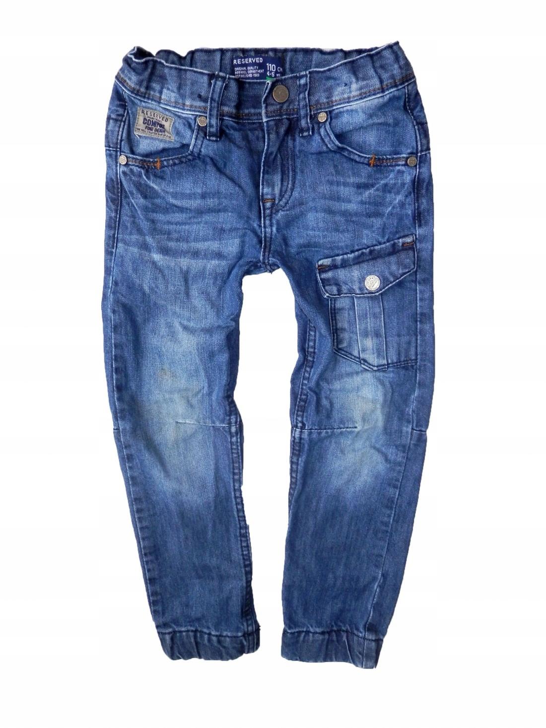bdf6044870f9 Reserved - granatowe spodnie jeansy