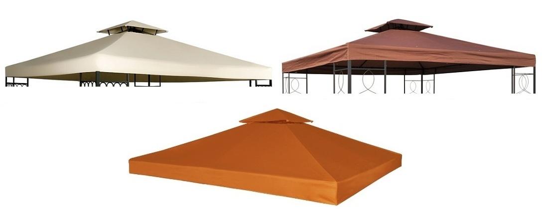 Poszycie Zadaszenie 3x3 Pawilon Ogrodowy Pvc Dach