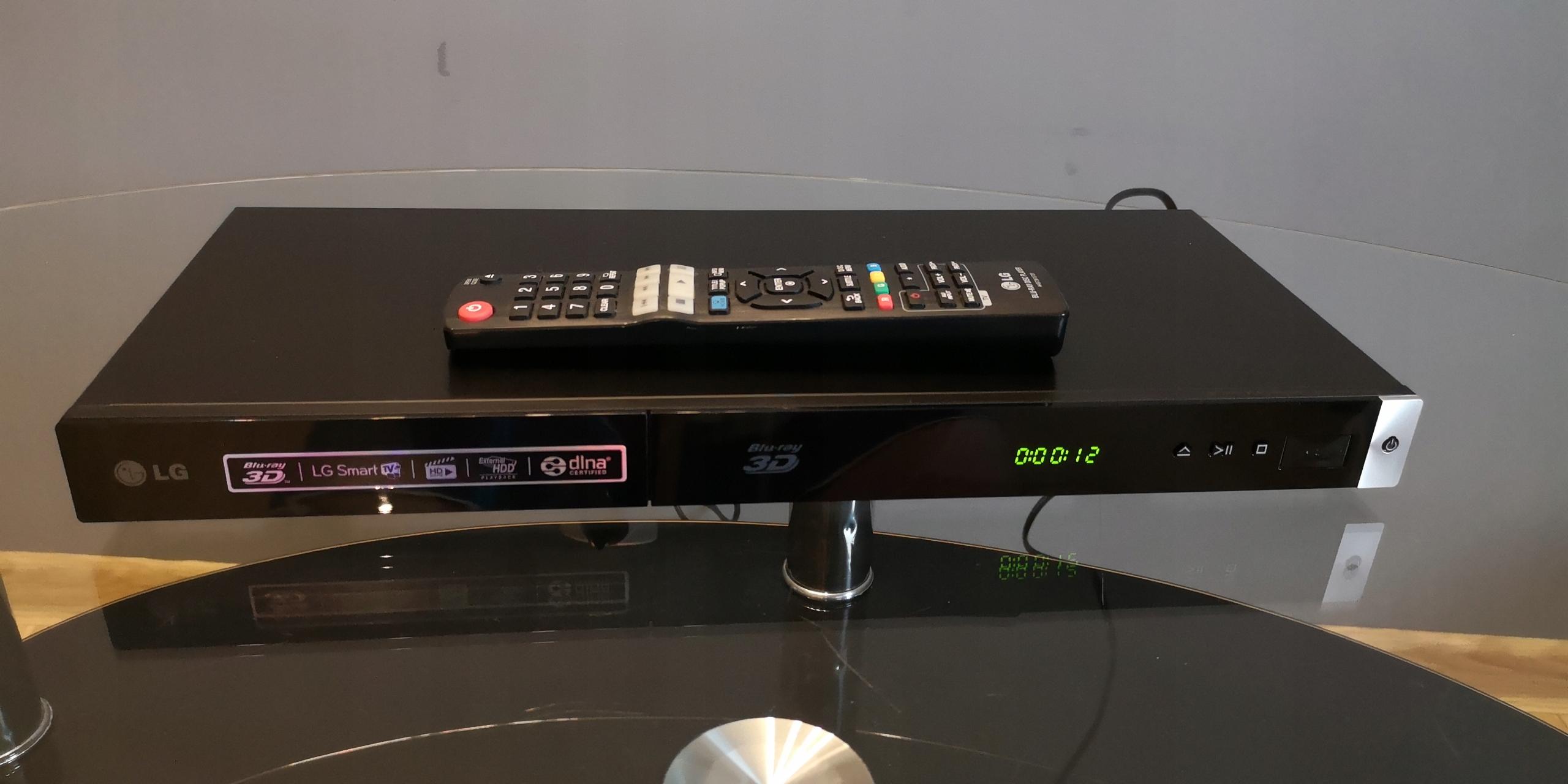Odtwarzacz Blu-Ray LG BP420 + PILOT 3D,USB - 7630700436 - oficjalne