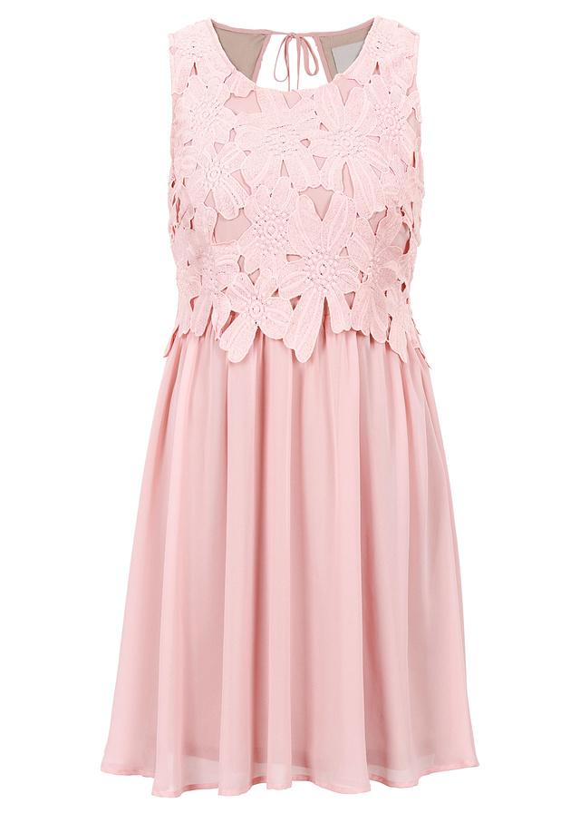 dacf15283b Sukienka wieczorowa różowy 36 S 976960 bonprix - 7096149226 ...